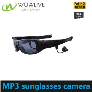 New 1080P bluetooth sunglasses hidden camera