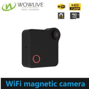 Mini Wearable Magnetic 720P WiFi Camera WF-720MC