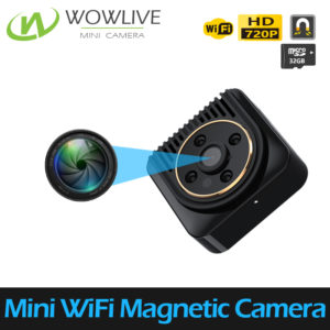 Mini Night Vision Wearable WiFi Magnetic Camera WF-720MCN