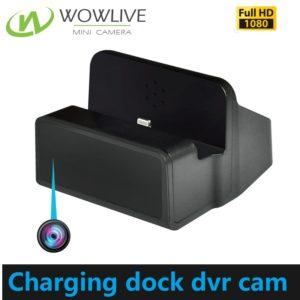 1080P FHD Functional Charging Dock DVR Hidden Camera DVR-1080CDC