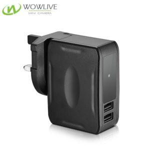 1080P Night Vision Ac Adaptor Hidden Camera UK/EU/US