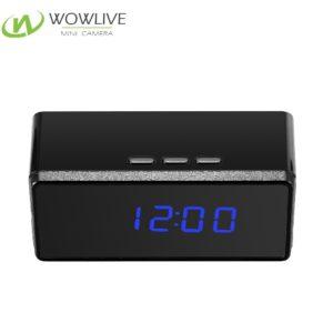 1080P Pinhole&Night Vision Desk Clock Hidden Camera DVR-1080DKC