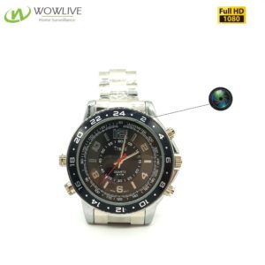 1080P Pinhole& Motion Detection watch Spy hidden camera DVR-1080MWC