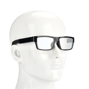 Wearable 1080P bluetooth sunglasses hidden camera with one-touch recording