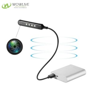 1080P Wireless Wifi  FHD USB Desk Lamp Spy Camera WF-1080ULC