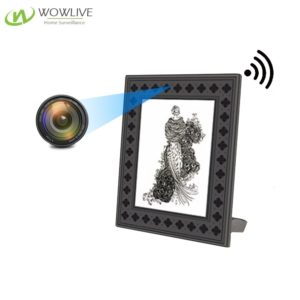 720P HD Photo Frame Wi-Fi Hidden Camera  with PIR Motion Detection WF-720PFC